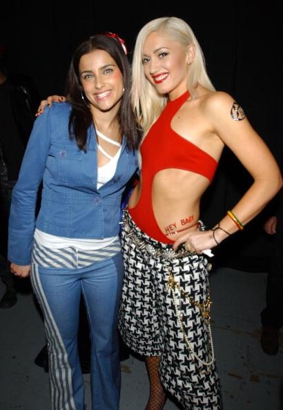 Gwen Stefani Nelly Furtado two awesome musical chickies