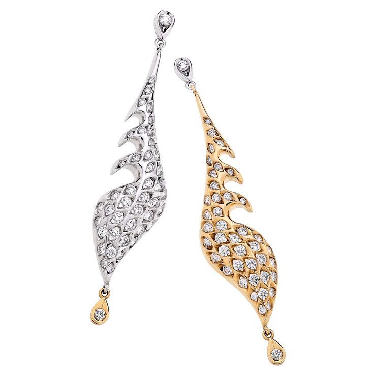 The Dòlfin collection  #jewellery #jewellerydesigner #jewels #handmadejewels #diamonds #Salvadori #ring #engagementring #luxury #bracelet #madeinitaly #jewelry #diamondring #gold #giacertified #jewellery #gia