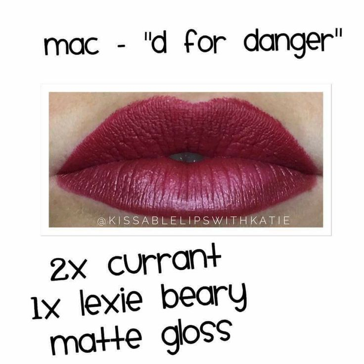 MAC D for Danger Dupe Thanks Katie!