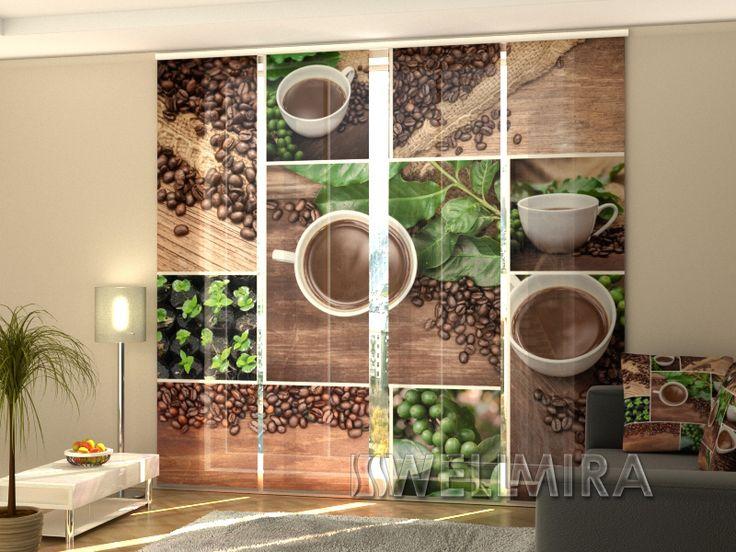 Set of 4 Panel Curtains Green Coffe  #Wellmira #ModernCurtains #PanelCurtains #Curtains #JapaneseCurtains #Fotogardine #Schiebevorhang #Flächenvorhang #Schiebegardine #Coffee   https://wellmira.com/collections/sets-of-4-panel-curtains/products/set-of-4-panel-curtains-green-coffe?variant=25682594119
