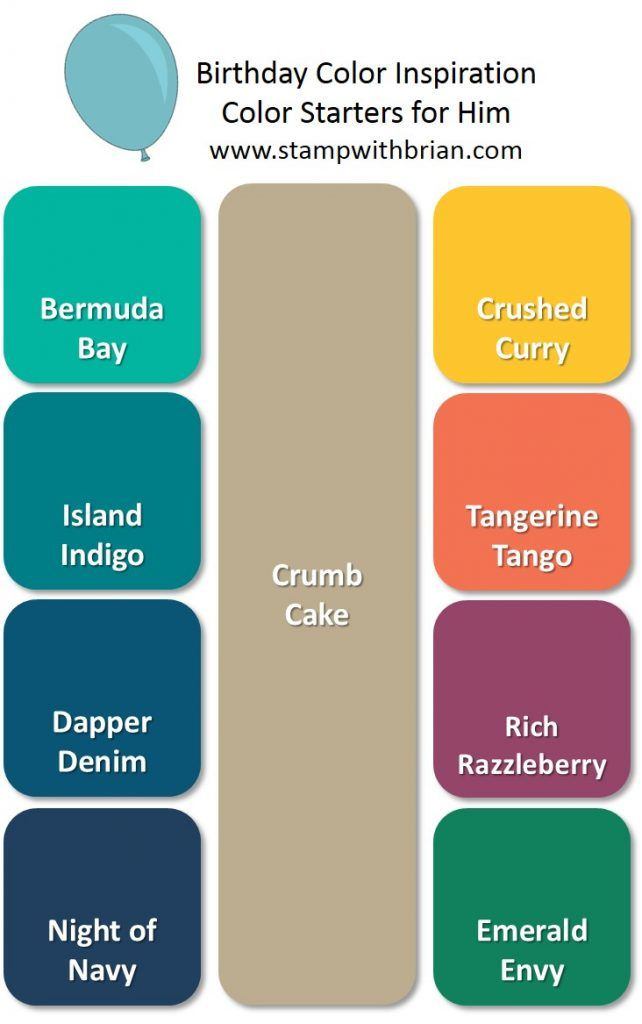 Starter Color Combinations for Birthday Celebrations