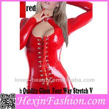 Wholesale Open Front Adjustable Long Sleeved Red Leather Catsuit Wholesale Open Front Adjustable Long Sleeved Red Leather Catsuit  Best Seller follow this link http://shopingayo.space