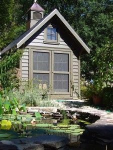 The Nellie's Cottage series from GardenSheds.com.