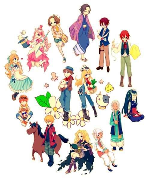 harvest moon a new beginning - Google Search
