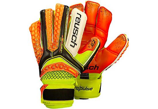 Reusch Pulse Deluxe G2 Ortho Tec Keeper Gloves. One of the hottest gloves at www.soccerpro.com right now!