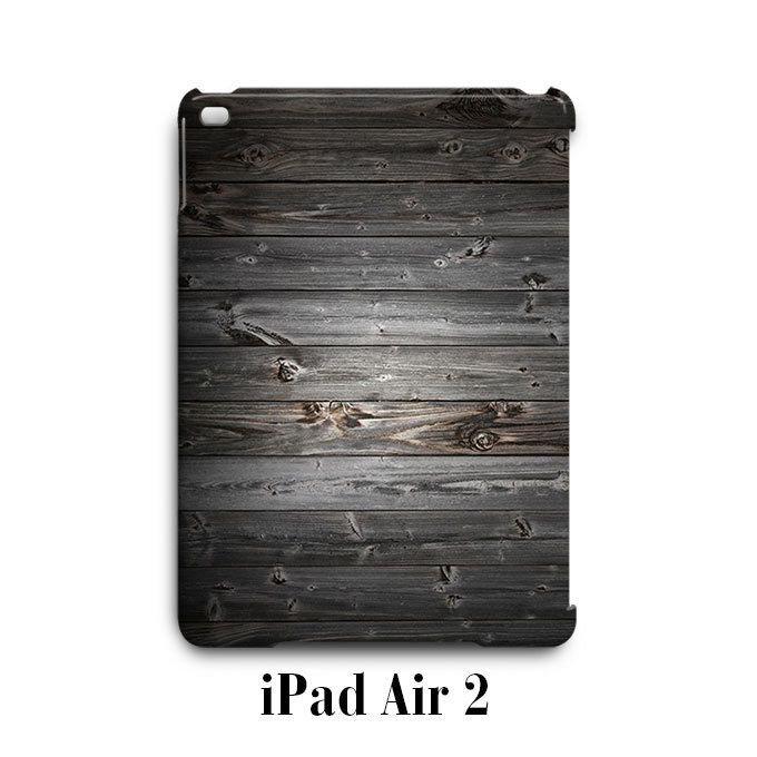 Wood Grey Texture iPad Air 2 Case Cover Wrap Around