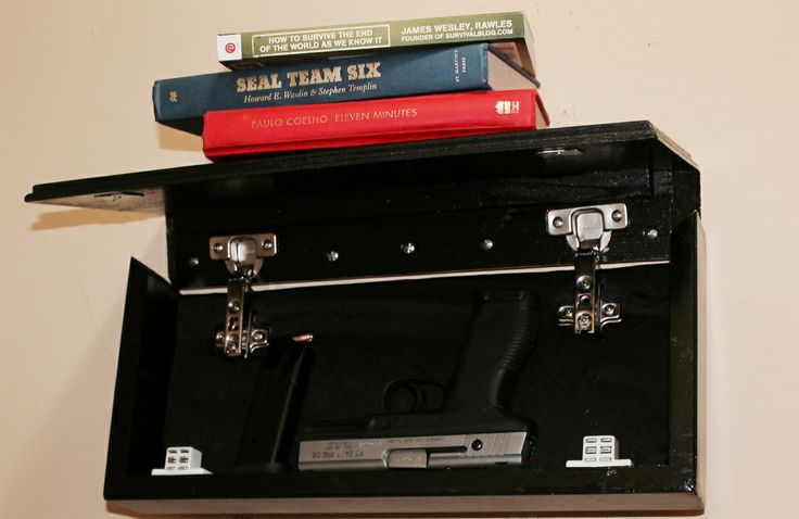 Hidden Compartment Floating Shelf Open Products I Want