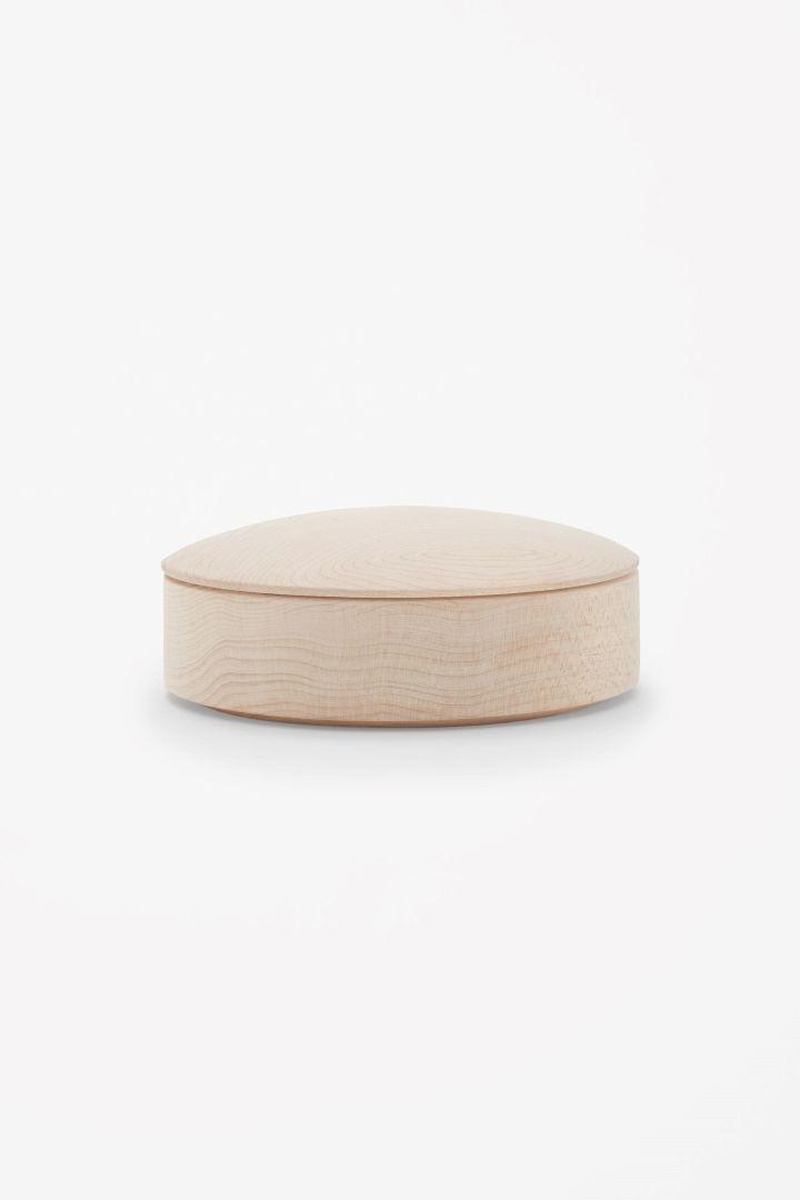 COS | Medium maple lens box