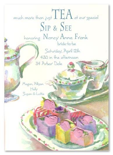 68 best Tea Party Invitations images on Pinterest