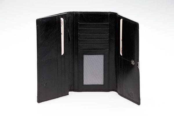 RFID-suojattu nahkalompakko 503-696