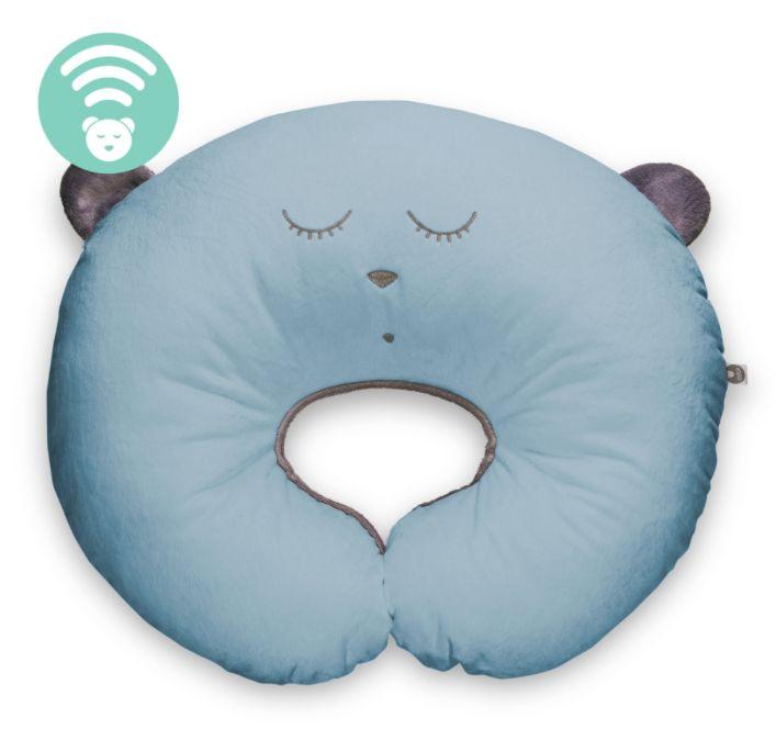 SZUMIŚ Poduszka do karmienia Sleep niebieski