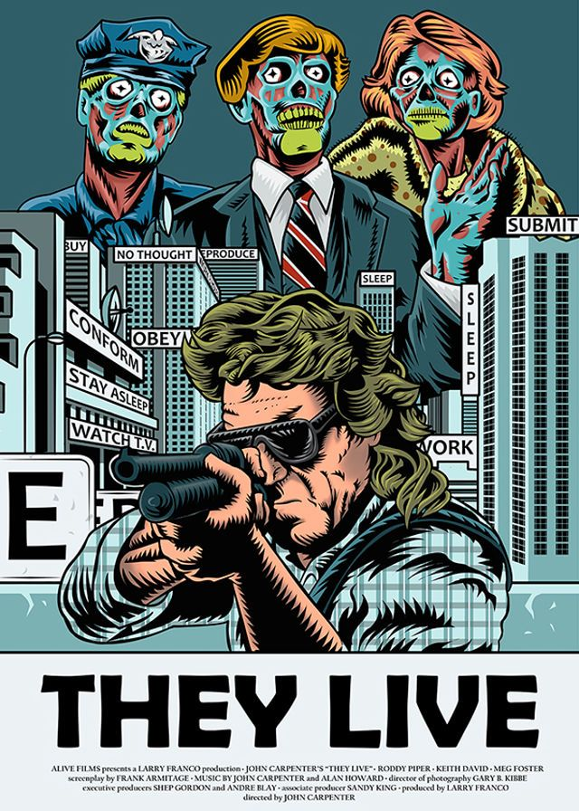 John Carpenter - They Live (1988) Mind Control