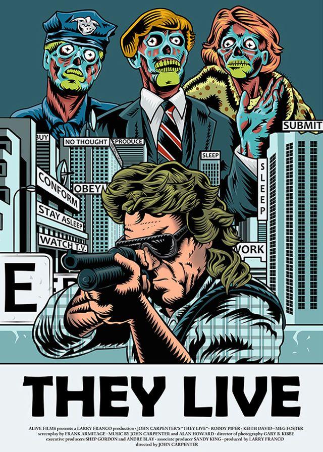 John Carpenter - They Live (1988) Mind Control