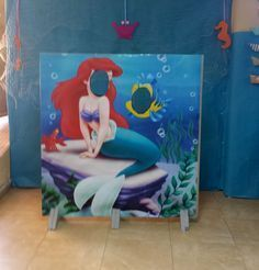 Cuando Marina cumplió 4 años quería que la fiesta fuese de su segunda princesa favorita, después de Aurora, es decir, de Ariel. La verdad es que fue muy divertido preparar la fiesta de la Sirenita porque da mucho juego comparado con otras temáticas. En este post os vamos a enseñar cómo hicimos el photocall. Yo …