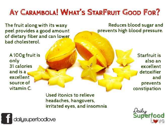 healthy fruit chart carambola fruit