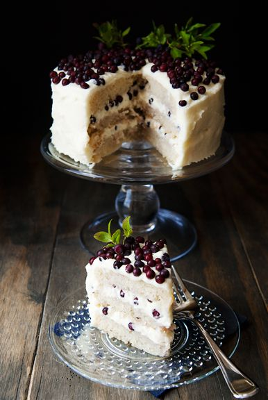 huckleberry chantilly cake recipe | use real butter