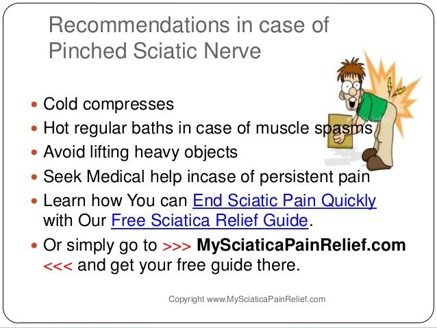 How to Get Rid of Pinched Sciatic Nerve Pain & Get Relief From Sciatica