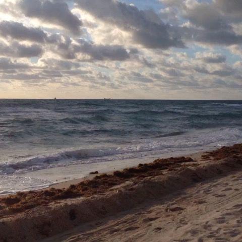 Amanecer en Miami Beach