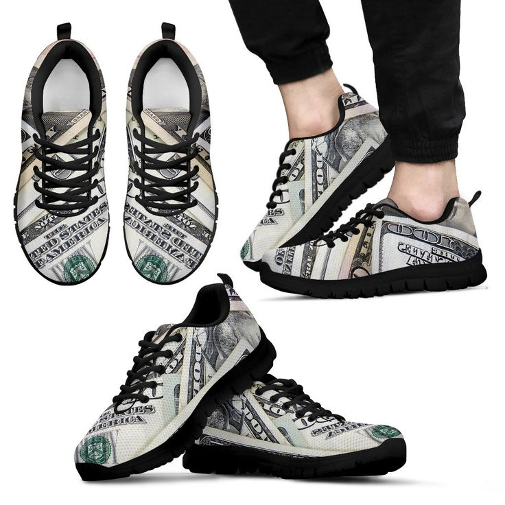 Chaussures sports en dollars