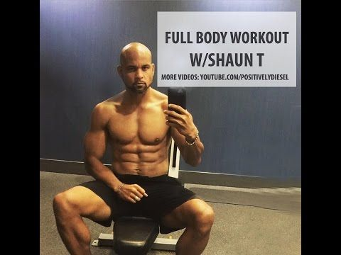 Shaun T's 25 Minute Free Workout! If you enjoyed this video, please like! = SUBSCRIBE  ▶ YOUTUBE: http://www.youtube.com/positivelydiesel ▶ VIMEO: http://vi...