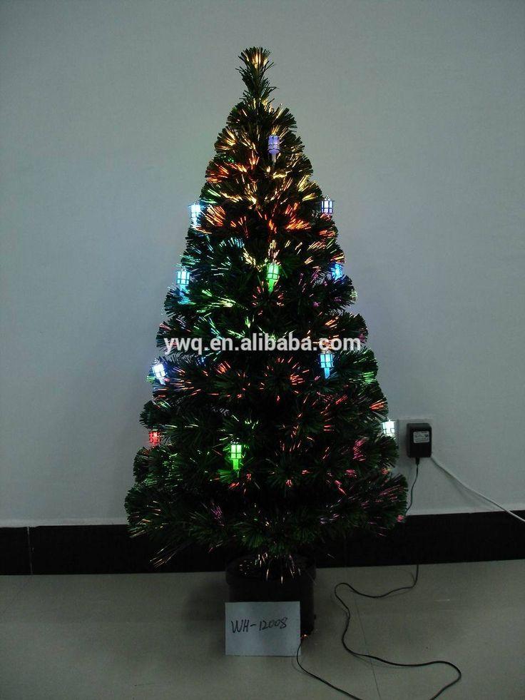 fiber optic christmas trees at walmart