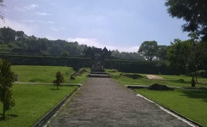 Pintu masuk bekas kerajaan