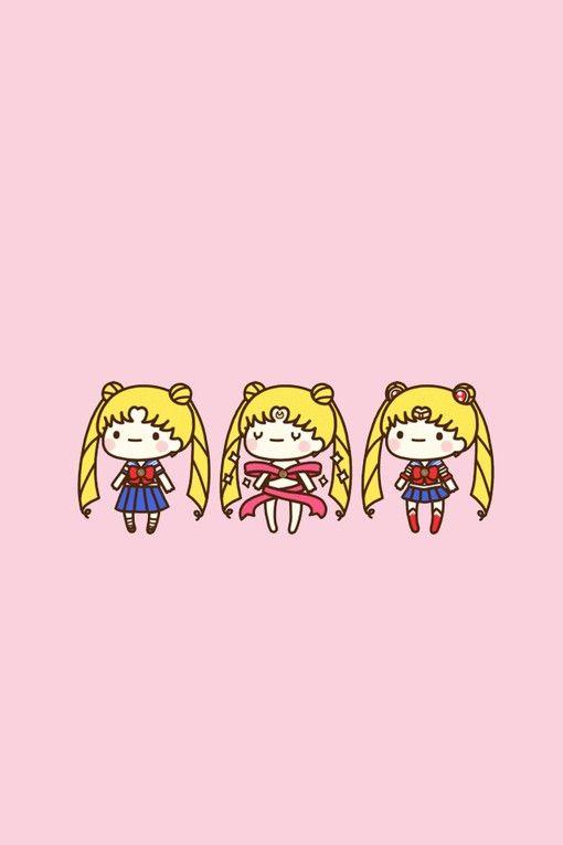 Sailor moon fanmade iphone wallpaper anime manga kawaii - Kawaii anime iphone wallpaper ...