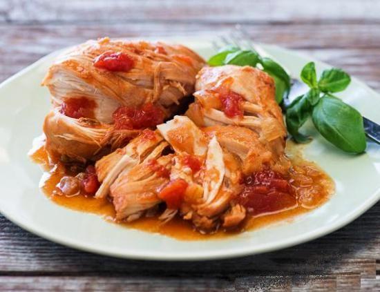 Курица в томатном соусе по-китайски