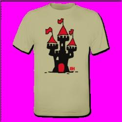 Castle on a T-Shirt. #ShirtCity #Cardvibes #Tekenaartje