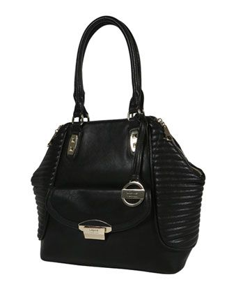 Wayne by Wayne Cooper - 'Avery' Large Pocket Tote in Black Combo WH-2118