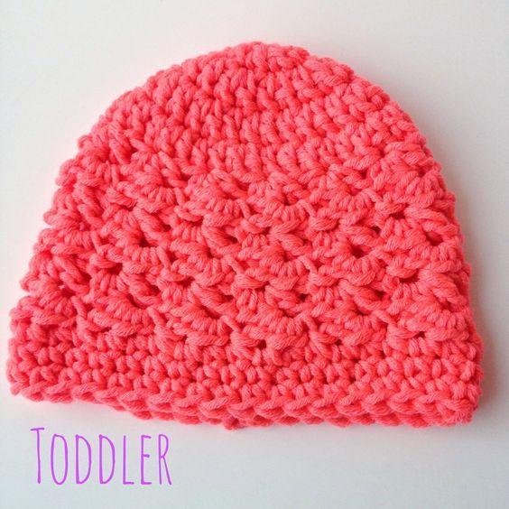5 Little Monsters: Textured Toddler Beanie: Free Crochet Pattern