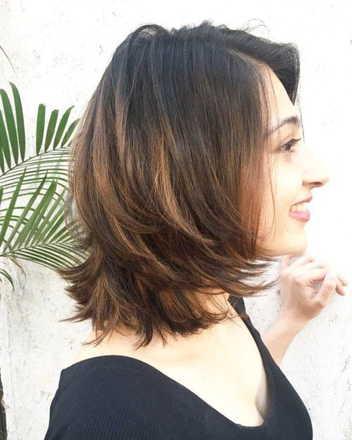 indian feather cut bob hairstyle