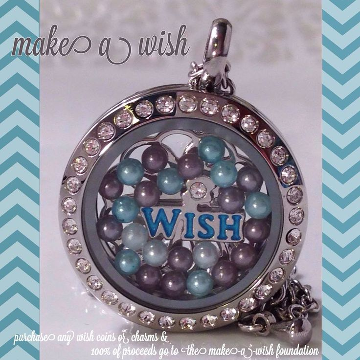 Order Make A Wish products and win two-fold!  You get a beautiful piece of jewelry and Make A Wish gets 100% of the proceeds for their wish-granting mission!  Contact your Artist to order!!! #makeawish #southhilldesigns