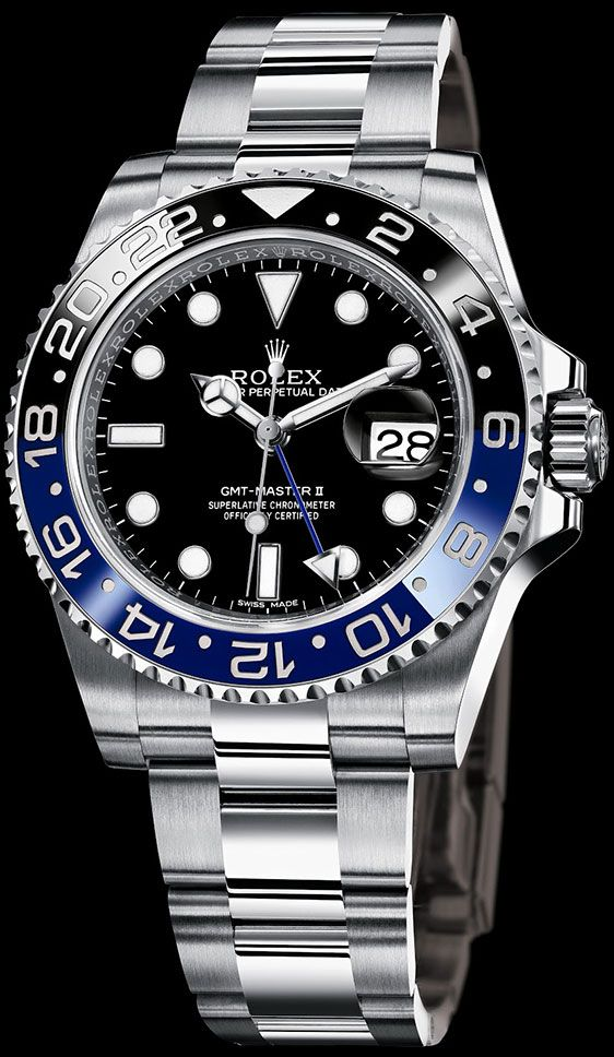 I know I've already pinned this, but it's my second favorite Rolex after the Sky Dweller - Rolex GMT-Master II Ref. 116760BLNR