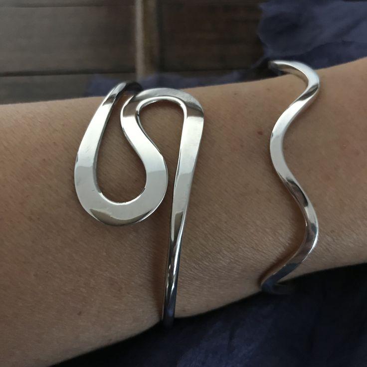 wavy model bracelets