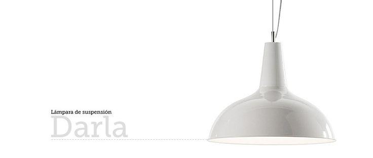 Lámpara de suspensión Darla en Ottoyanna #lampara #lamapras #lamps #iluminacion #ilumination #lights #estiloIndustrial #suspension #lampe #luz
