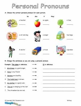 Printables Personal Pronouns Worksheet 1000 ideas about personal pronoun on pinterest worksheets learn german and grammar