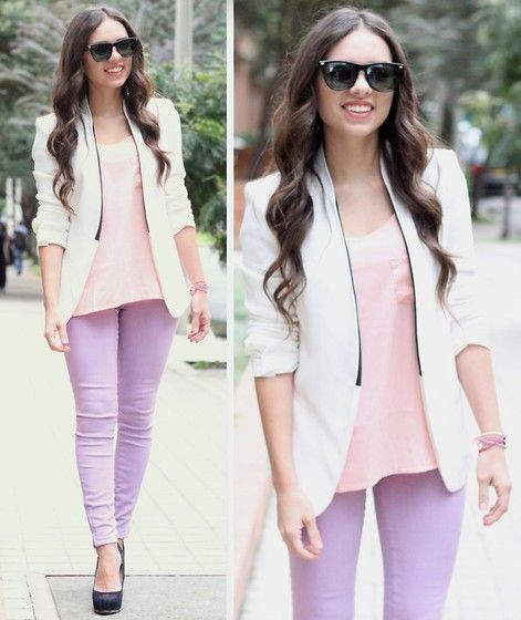 perfect color combo clothes n gorgeous hair