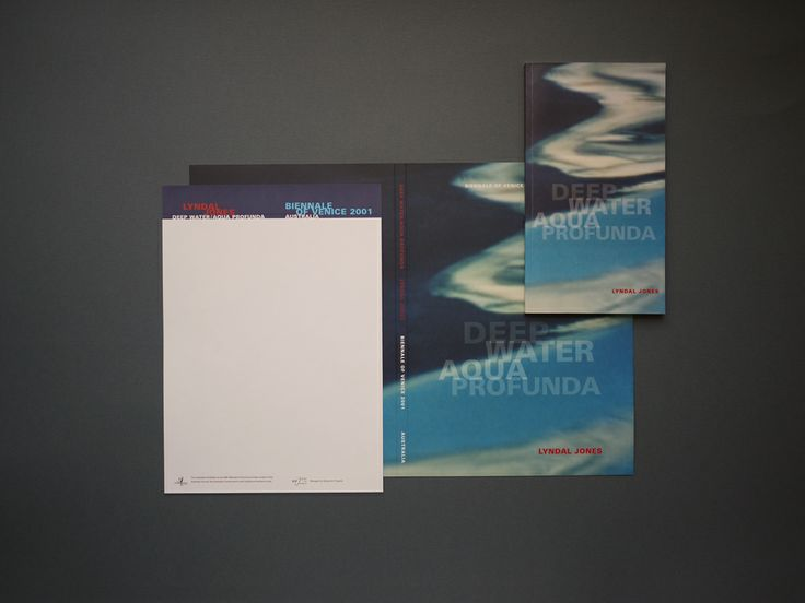 Promotional items for the 49th Venice Biennale - Australian Pavilion, Lyndal Jones