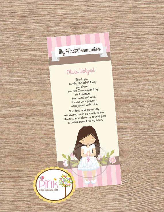 Recuerdos de Primera Comunión// Bookmarks Primera Comunion