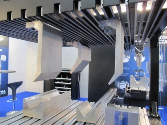 """WILA - """"Easy to Move"""" press brake tools - at EuroBlech 2012 Hannover (D)"""