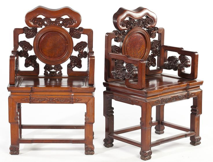 Antique Asian Style Chair