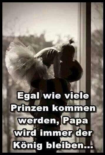 ....glücklich ,wer einen Königs Papa hat