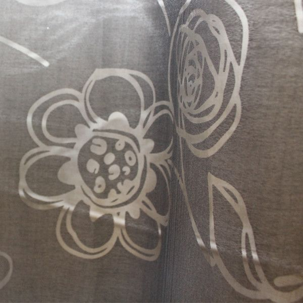 Black Korora (Sheer) Eyelet Curtain #eyelet #curtains