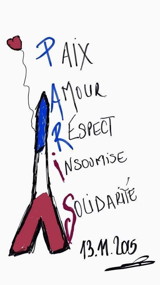 Son principios demasiado fuertes que el terrorismo no podrá debilitar: libertad,igualdad, solidaridad