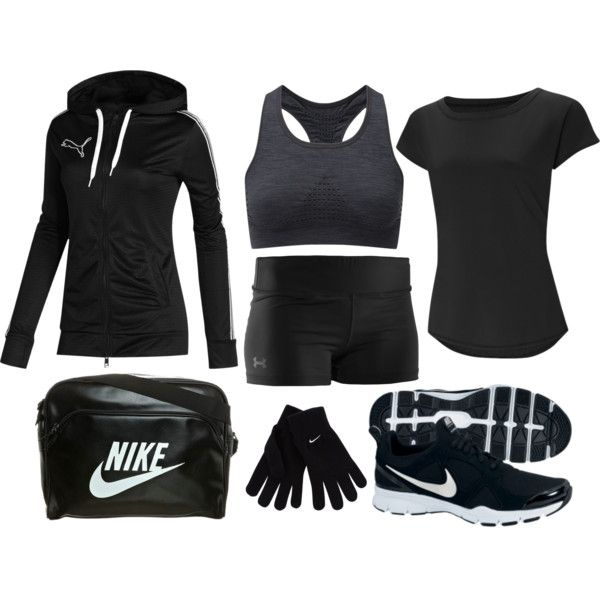 """""""Girls' Track and Field Uniform"""" by eappah on Polyvore"""
