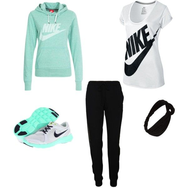 """Jogging outfit"" by degrees18 on Polyvore"