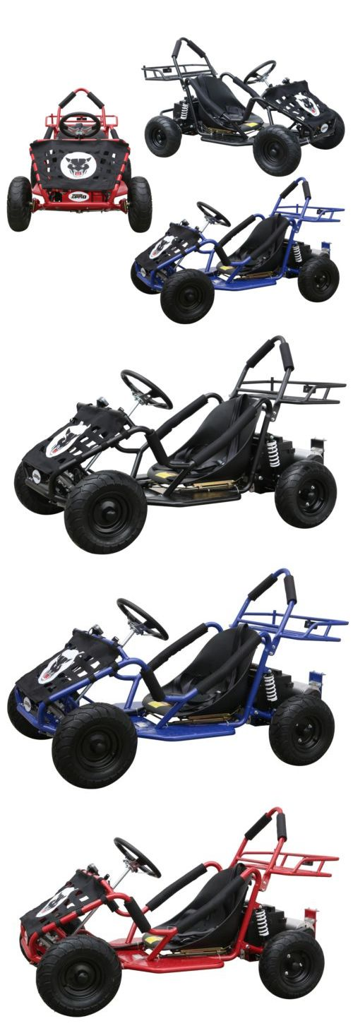 Complete Go-Karts and Frames 64656: Go Karts For Kids Or Teens Razor Drifter Cart For Racing Electric-Powered 1000W BUY IT NOW ONLY: $749.99