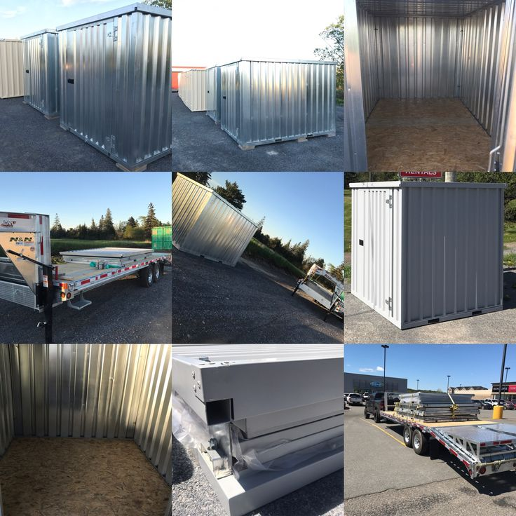 PORTABLE SELF STORAGE for sale or rent on site or delivered to your home or business .