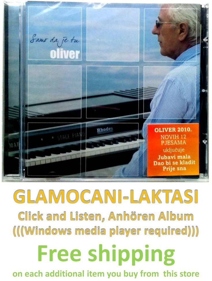CD Oliver Dragojevic Samo da je tu Album 2010 Serbian Bosnian Croatian Pop